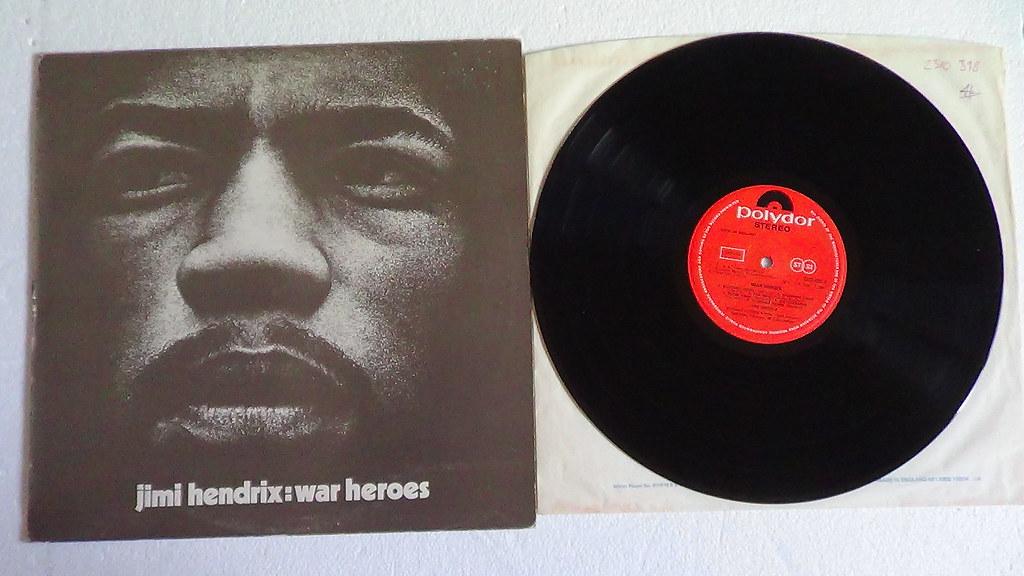 Jimi Hendrix - War Heroes CD