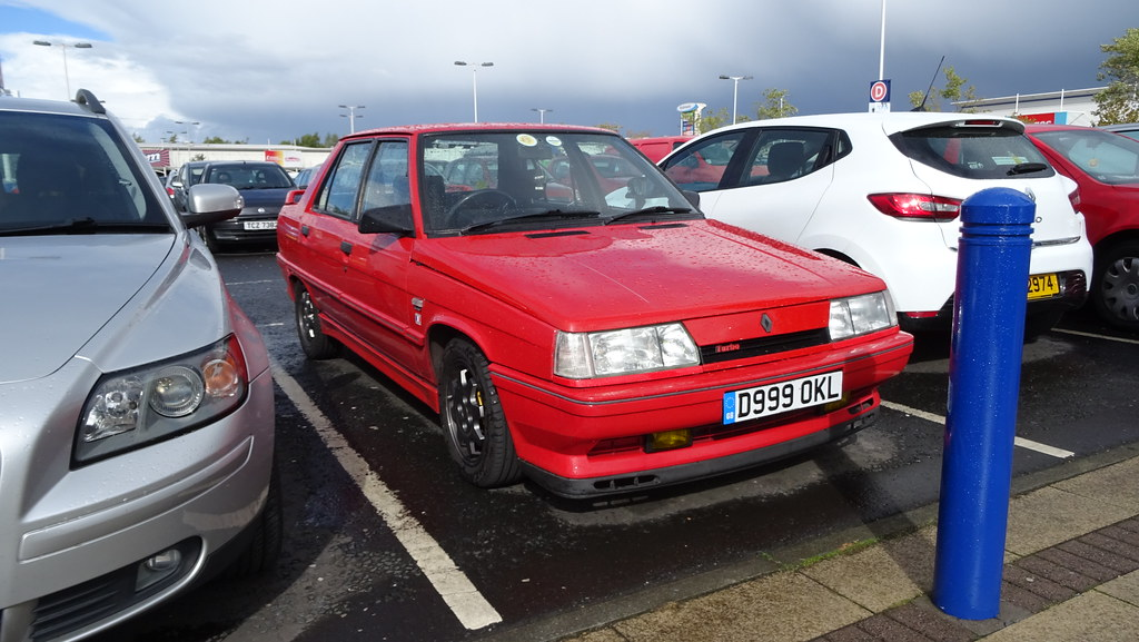 1987 renault 9 turbo 1 of 2 in uk what a beauty this is flickr