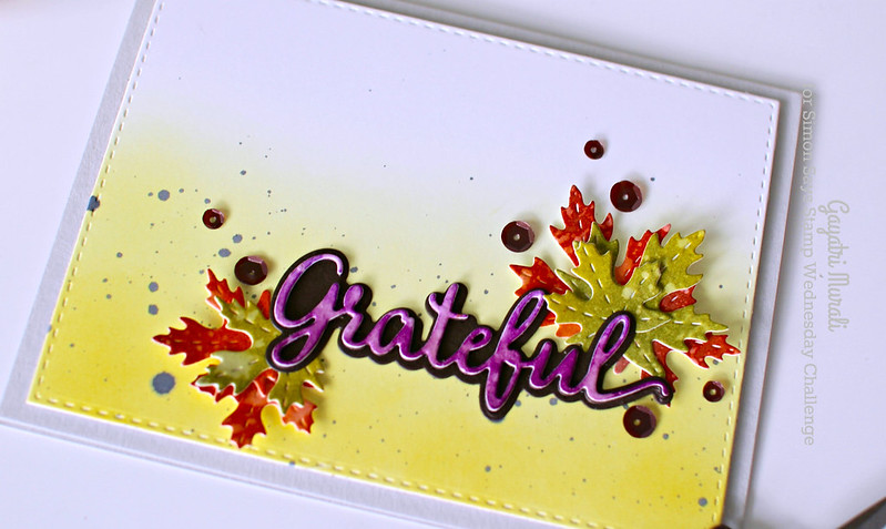 -Grateful closeup flat