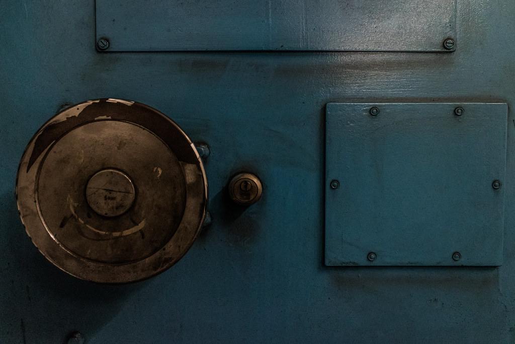 ... Smiley Face - Submarine Door | by MoreToJack & Smiley Face - Submarine Door | We all live in a smiley blue \u2026 | Flickr
