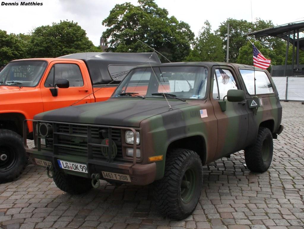 Chevy M1009 CUCV | A Chevrolet Blazer K5 (M1009 CUCV) on ...