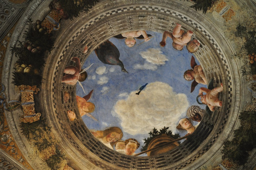 L 39 oculus vo te en trompe l il chambre des poux ch tea flickr - Trompe l oeil chambre ...