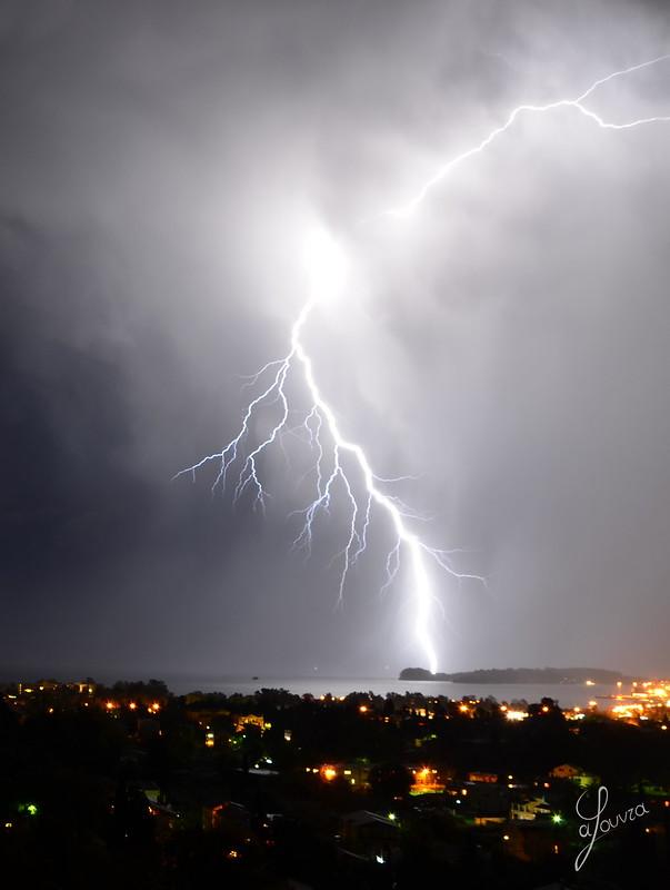 Storm-y Corfu, Greece