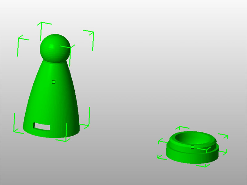 Nozzle and Socket Model