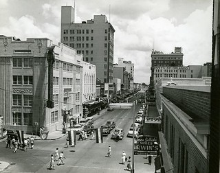 Looking north along Orange Avenue in downtown Orlando | by State Library and Archives of Florida