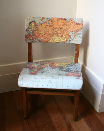 map chair front | by suzy @ floating world
