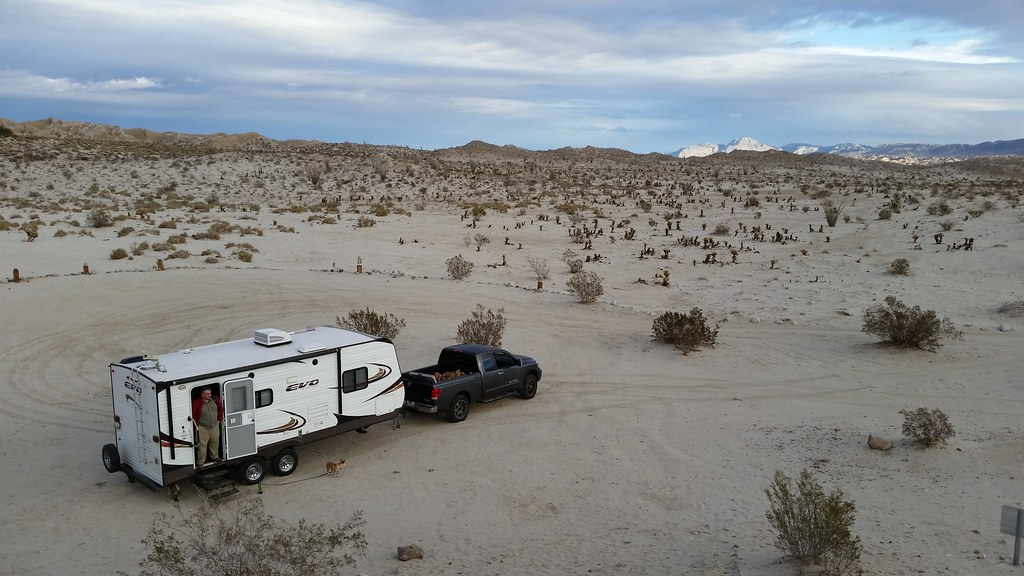 Our Campsite In Anza Borrego Desert State Park Rv Campin