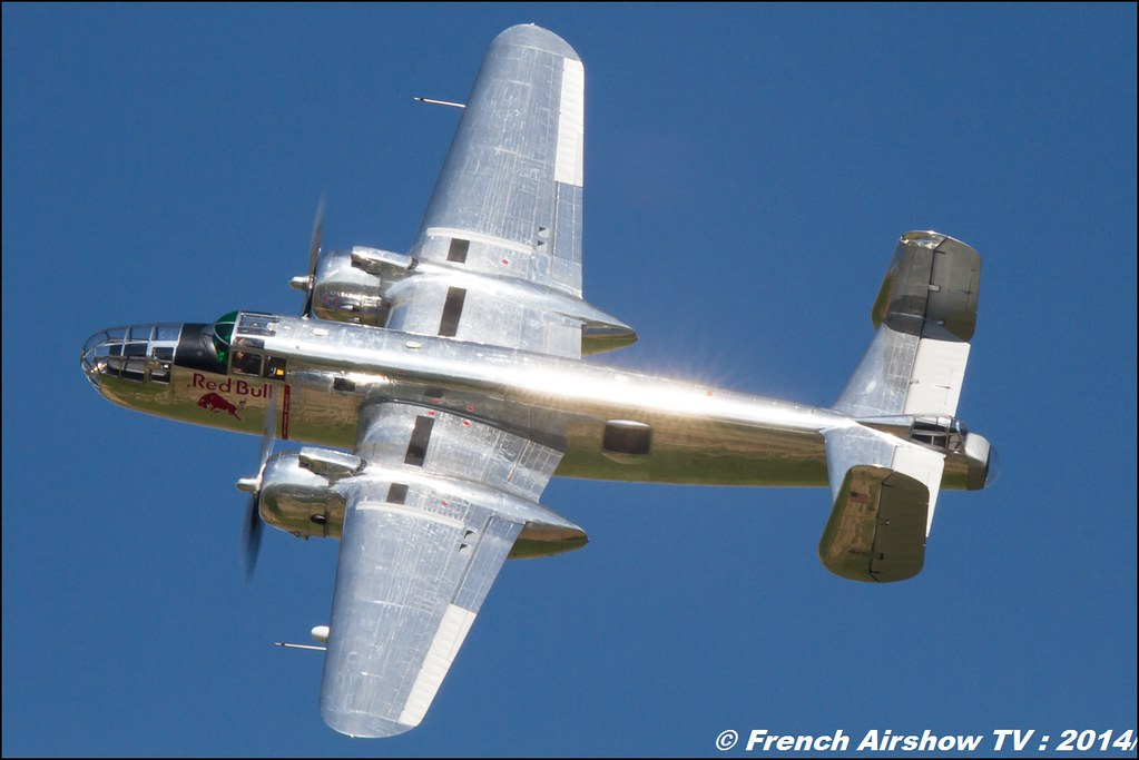 B-25 Flying Bulls AIR14 Payerne 2014 Canon Sigma France contemporary lens