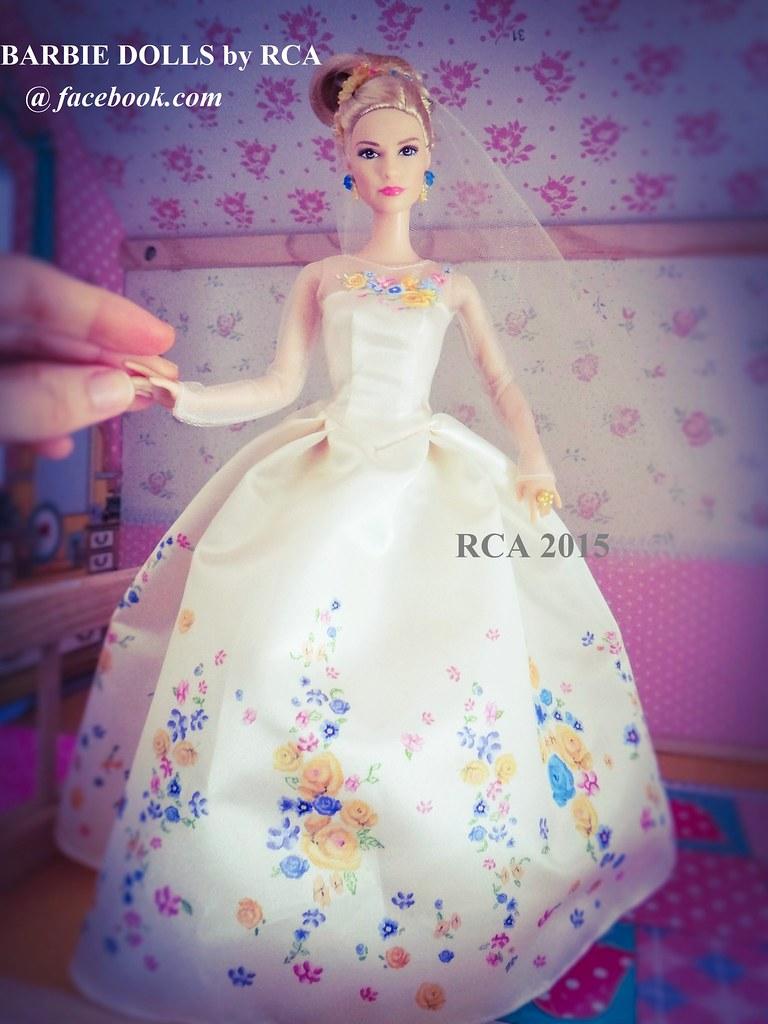 Mattel's Disney Cinderella 2015 the movie | Wedding day Cind ...