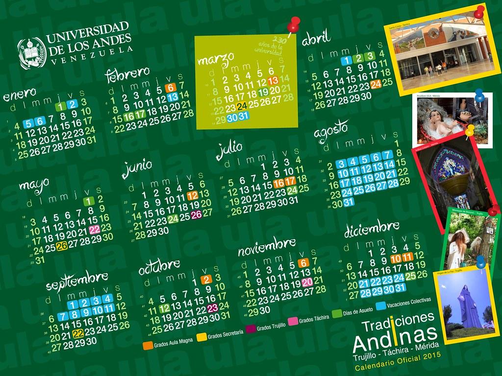 Calendario de Actividades para la Universidad de Los Andes…   Flickr