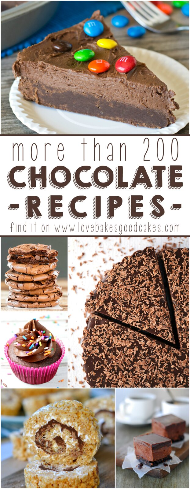 MORE than 200 chocolate recipes!!! I have to try all of them!