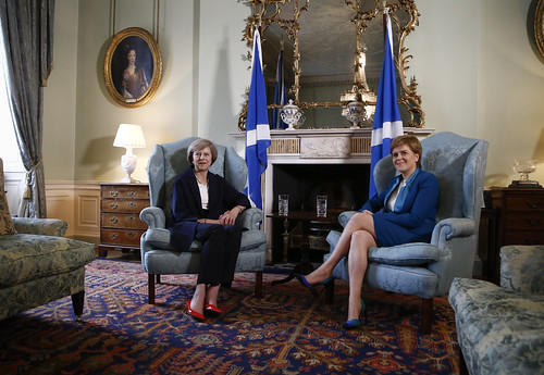 First Minister meets Prime Minister