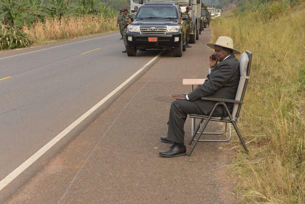 Uganda Presidential Phone call