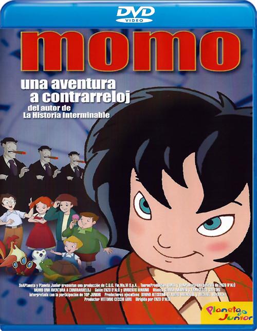 28698731896 a49bd89d0c b - Momo: Una aventura a contrarreloj [DVD9][Castellano, Catalán, Euskera][2001][Animación][Mega]
