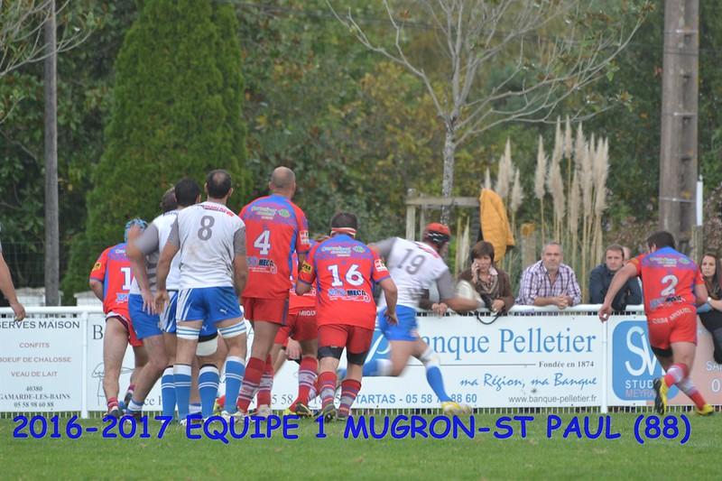 2016-2017 EQUIPE 1 MUGRON-ST PAUL