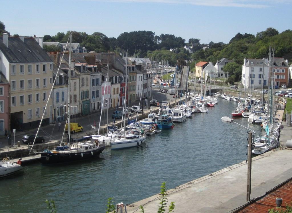 Bassin flot de palais belle ile apr s l 39 cluse - Maison bassin a flot bordeaux perpignan ...