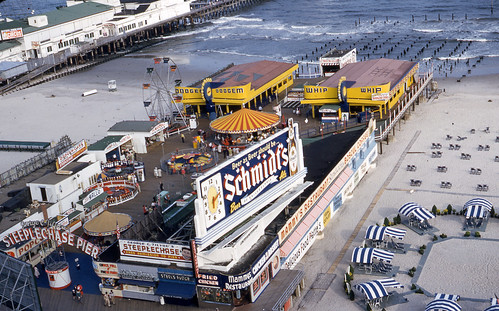 Steeplechase Pier Atlantic City In The 1950s
