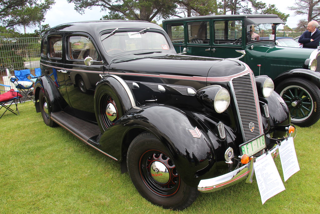 1936 Desoto Deluxe S1 Airstream Sedan | The Chrysler Corpora… | Flickr