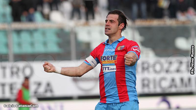Emanuele Calaiò, ex attaccante del Catania oggi al Parma