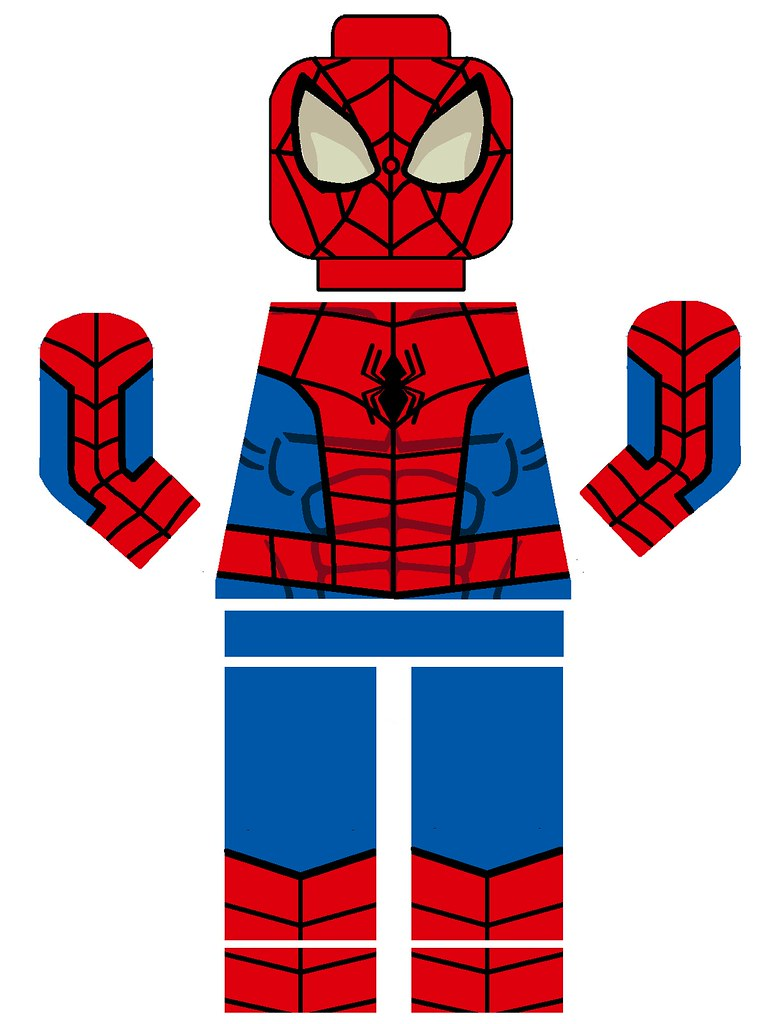 Lego Spectacular Spiderman Decal | By Pivote1342 Lego Spectacular Spiderman  Decal | By Pivote1342