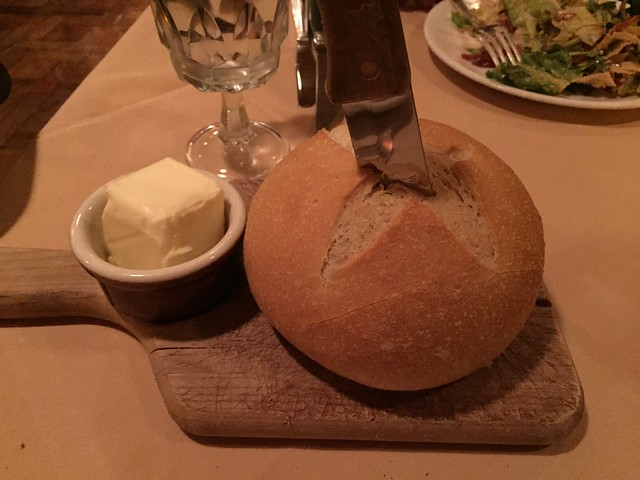 Bread and butter - House of Prime Rib