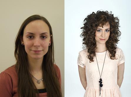 Before and after perm | spiralperm | Flickr