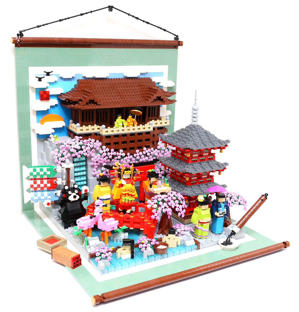 Lego Culture Of Japan Kyoto Kiyomizu I Made This