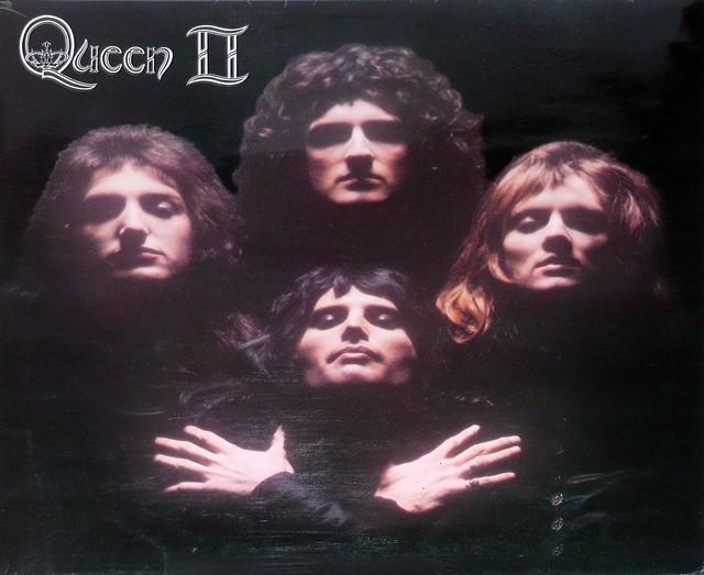 """QUEEN QUEEN II UK FOC 12"""" vinyl LP album"""