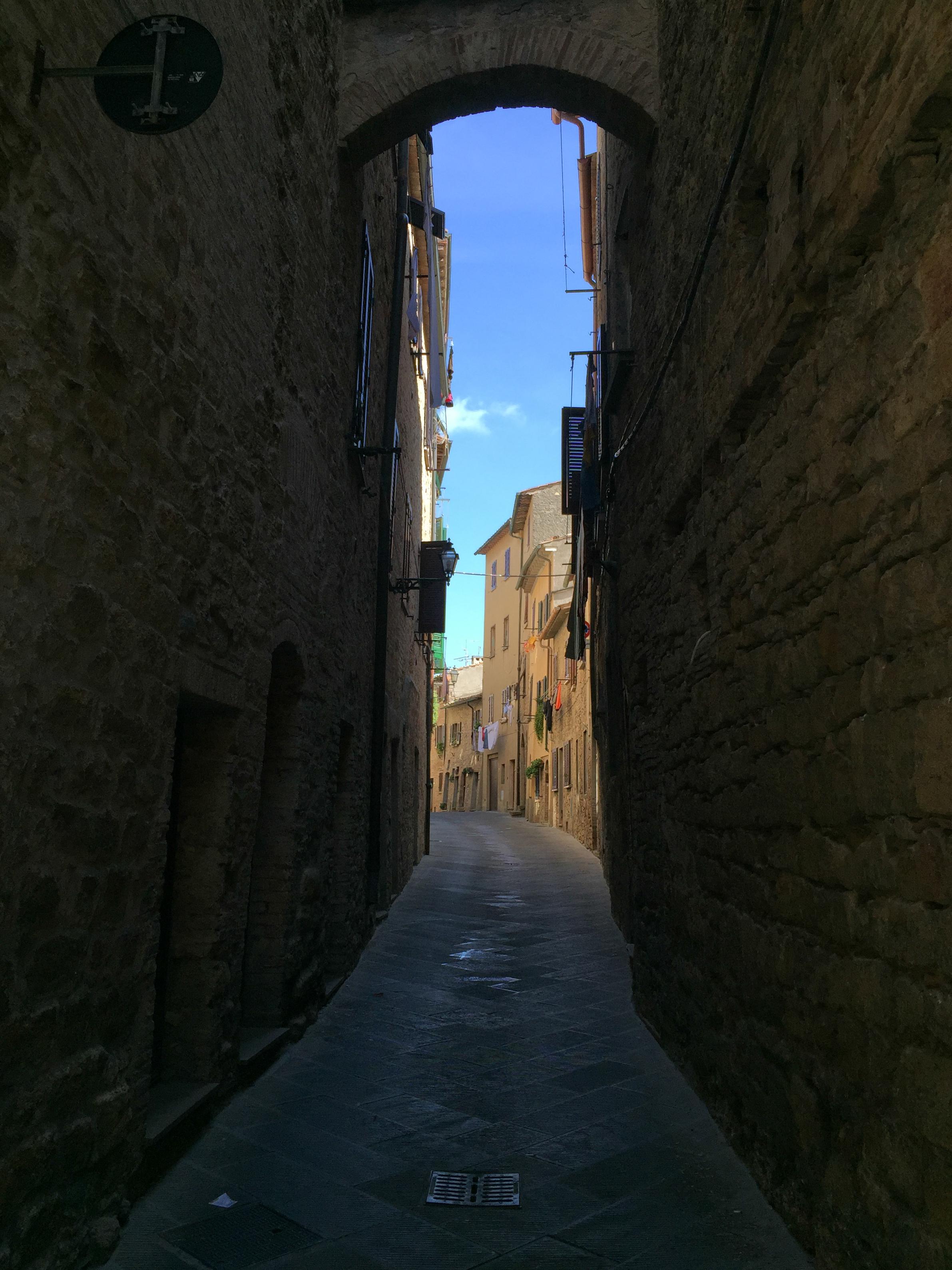 street in Volterra