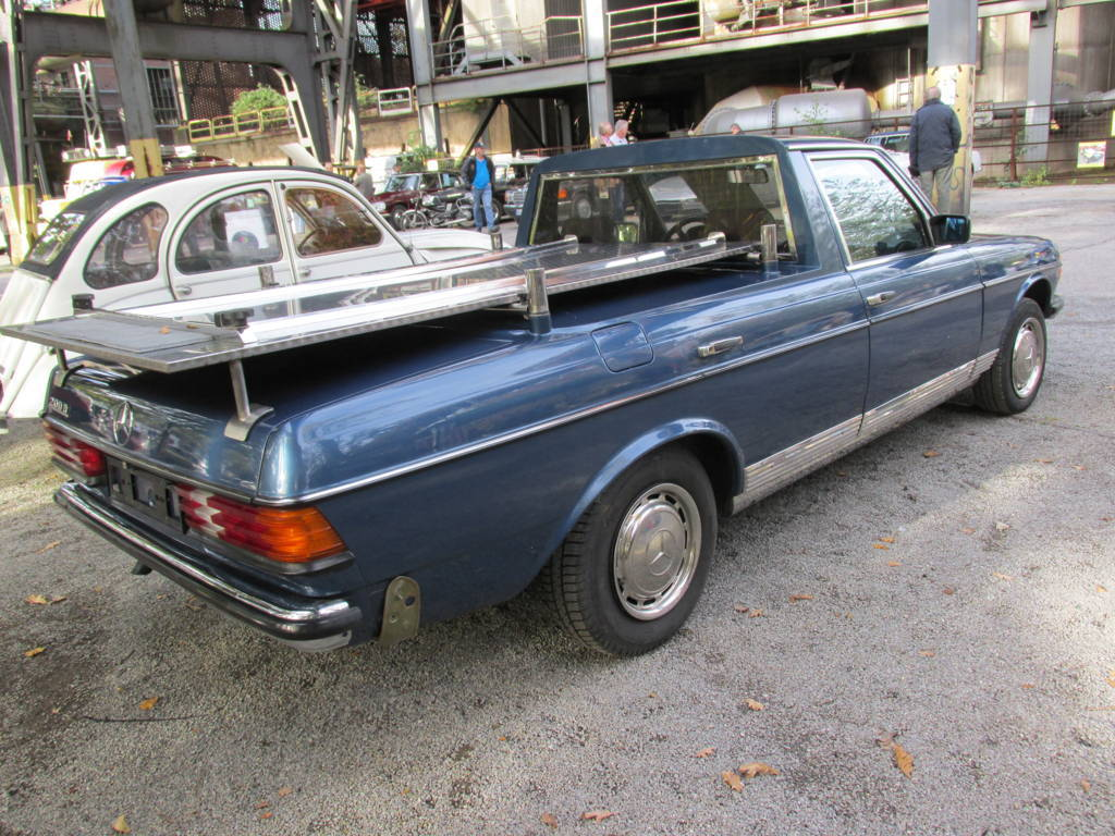 Mercedes benz 230e pickup w123 mod 1980 granada uwe for Mercedes benz 230e