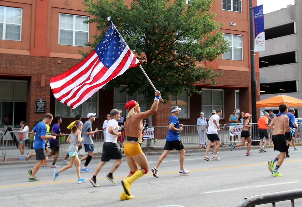 Fourth of July fun run in Atlanta - 18