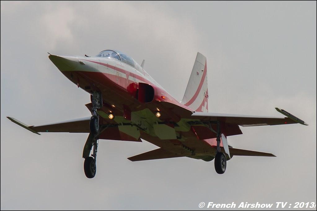 Patrouille Suisse , F-5 Tiger II ,patrouille-suisse.ch ,AIRPOWER13 , Zeltweg , Austria , airpower 2013 Zeltweg