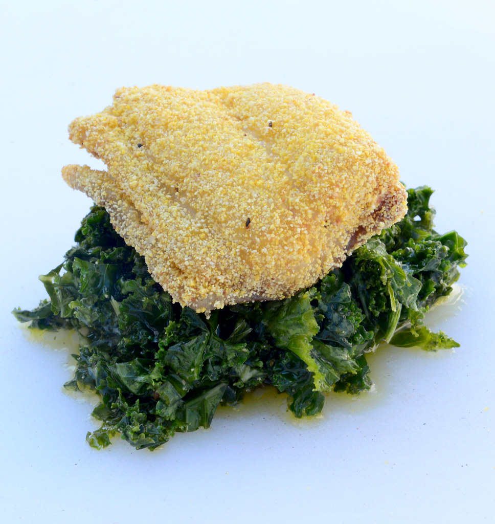 Photo of blue catfish meal