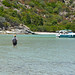 Estuary crossing, Coastal walk Saint Florent, Corsica