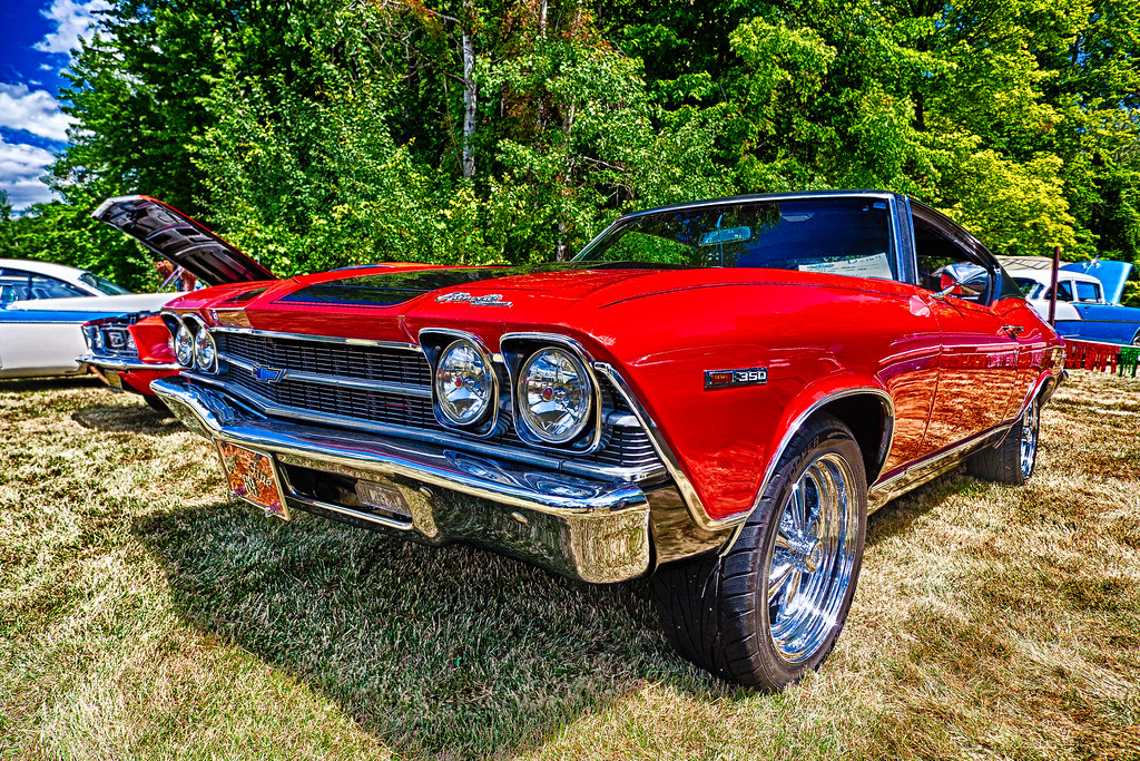 Chevy Chevelle Deer Acres Car Show At Pinconning - Thomas chevrolet car show