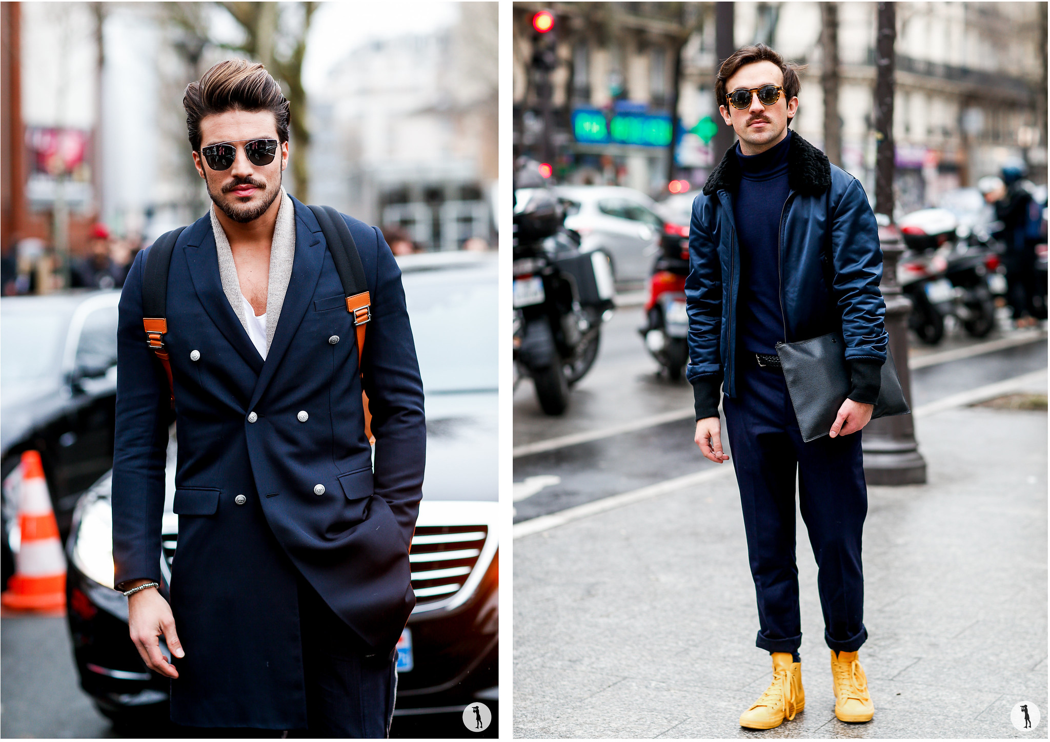 Street style - Paris Fashion Week Menswear FW16-17