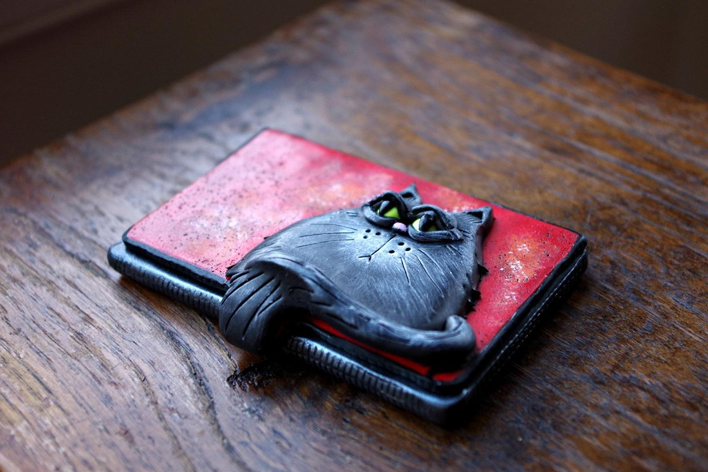 Cat business card holder | Melissa Terlizzi | Flickr