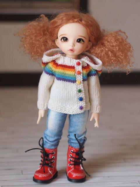 Littlefee Rainbow Hoodie
