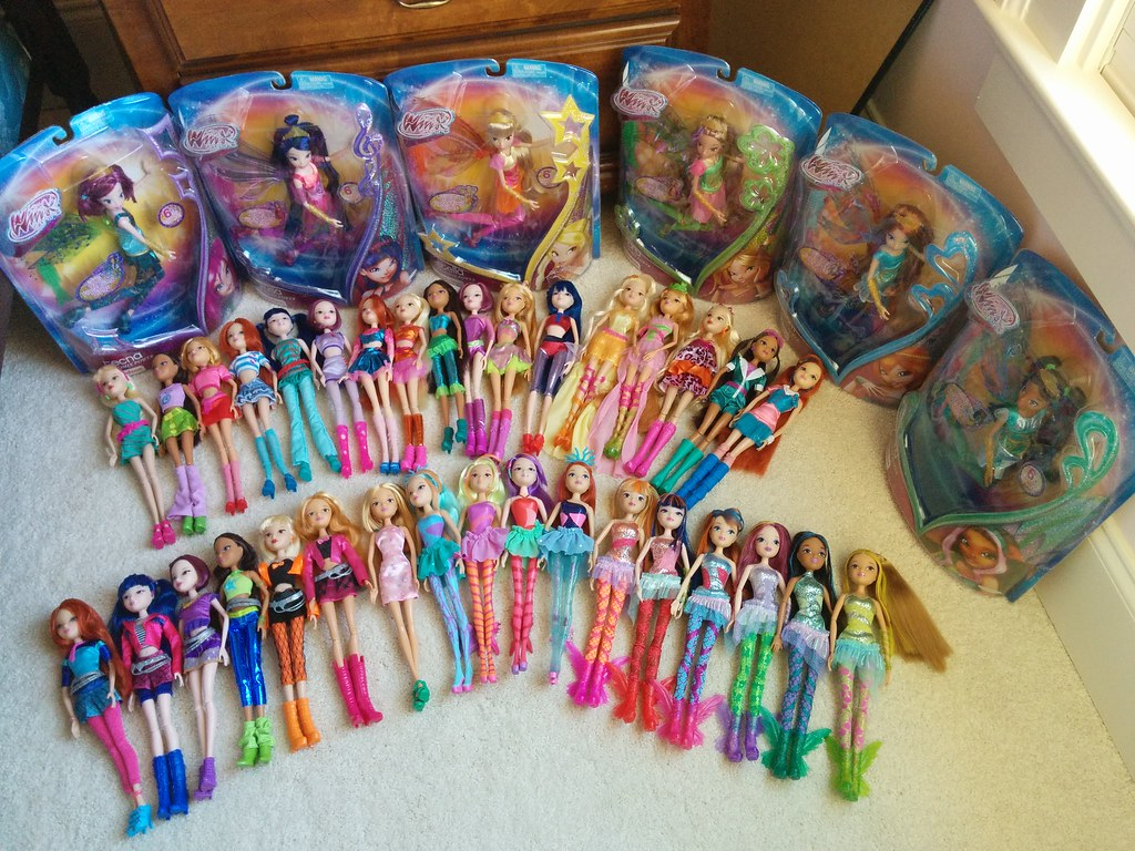 My Jakks Pacific Winx Club Doll Collection A Little