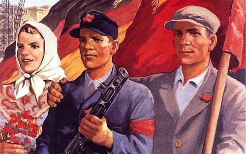 Poster di propaganda Germania Est