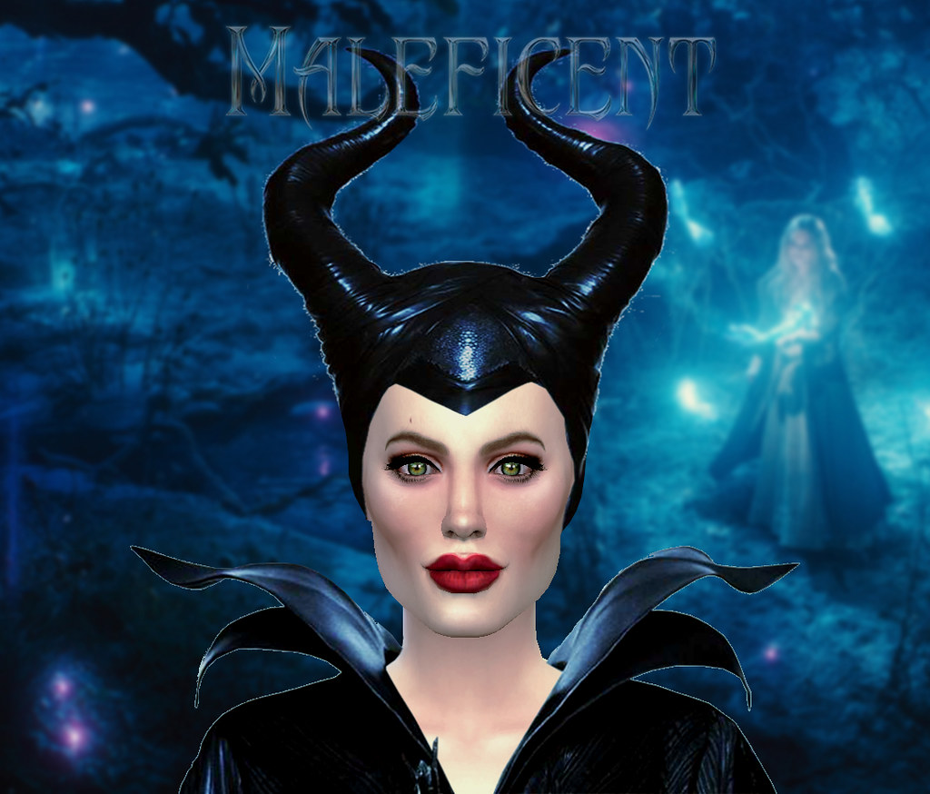 Angelina Jolie As Maleficent Sim For The Sims 4 By Auguste