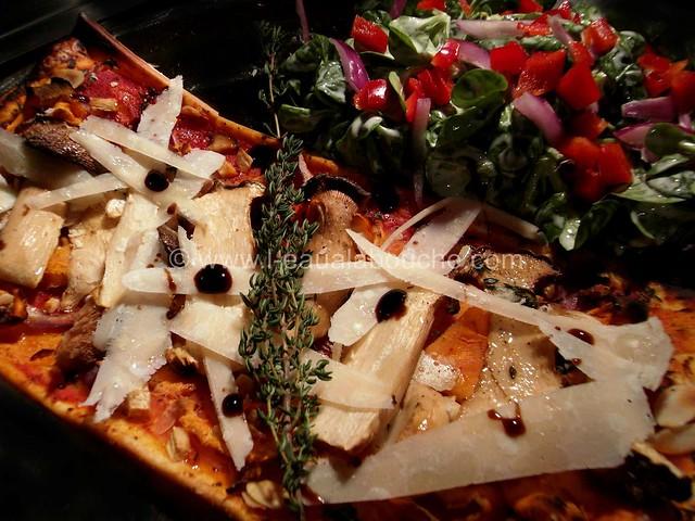 Tarte Fine aux Légumes et Champignons © Ana Luthi  Tous droits réservés  002