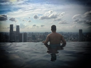 Marina Bay Sands Hotel Infinity Pool | by Daniel Gillaspia
