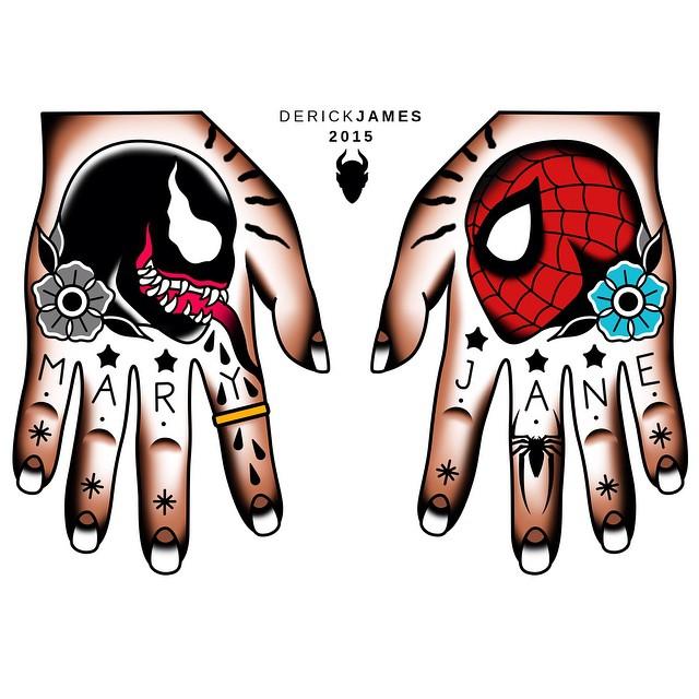 Back to work #spiderman #marvel #venom #comics #tattoo #ta