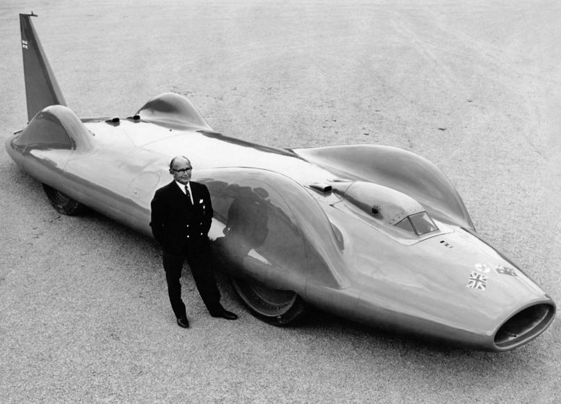 Bluebird Proteus Cn7 Land Speed Record Car 1960 Leo