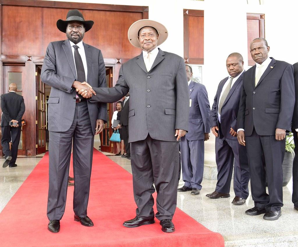 Museveni Kiir 3