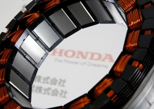 Honda developed the world's first heavy rare earth motor can be used in gasoline-electric hybrid cars