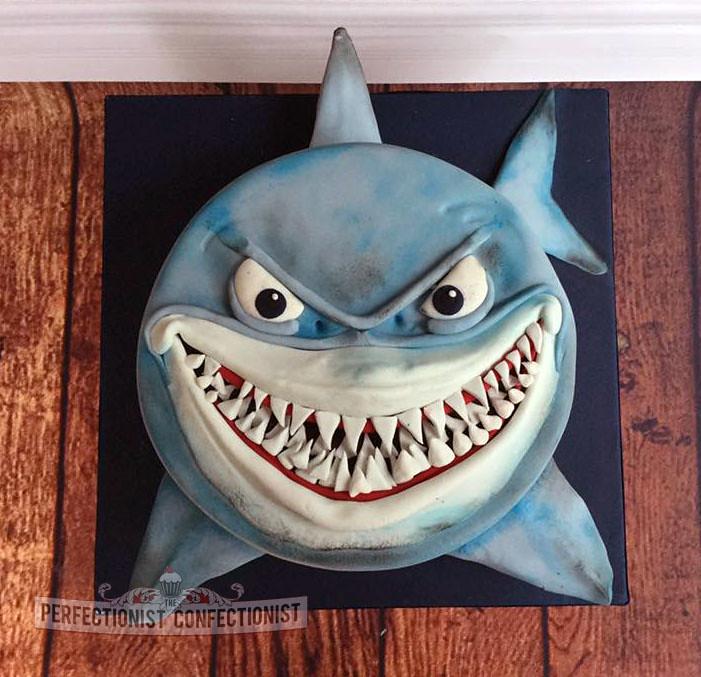 Bruce The Shark Cake Pan