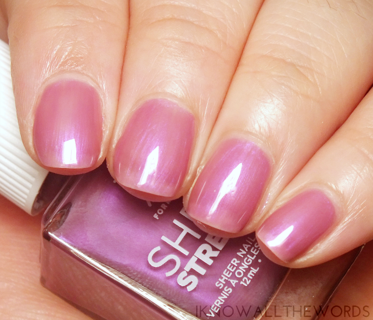 nothing but healthy nails with formula x sheer strength charisma