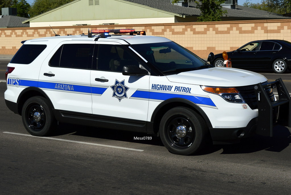 Arizona DPS Highway Patrol Ford Interceptor SUV  Ofc Dav  Flickr
